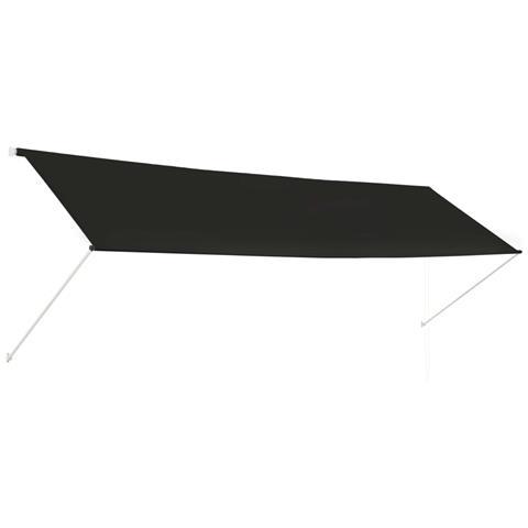Tenda Da Sole Retrattile 400x150 Cm Antracite