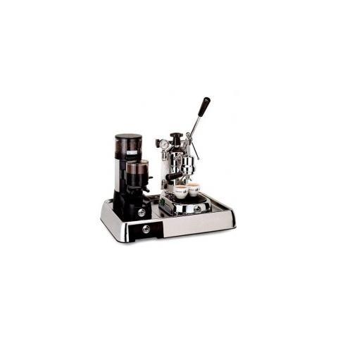 Macchina da Caffè Professional PL + Macinacaffè JDL + Base Cromata