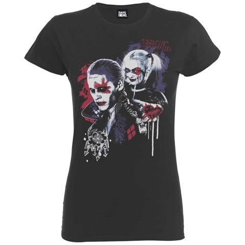 ROCK OFF Dc Comics - Suicide Squad Harley's Puddin Dark Grey (t-shirt Donna Tg. XL)