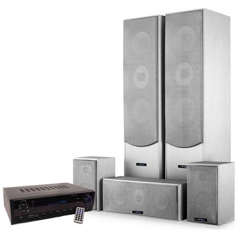 Image of Home Cinema 5 Altoparlanti E1004sl 850w + 2x50w + 3x20w Amplificatore Atm6500bt