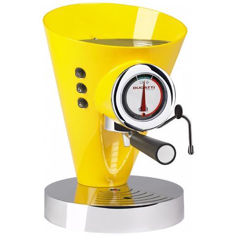 Macchina Caffè Espresso Manuale Diva Evolution Capacità Serbatoio 0,8 Litri Potenza 1700 Watt Colore Giallo