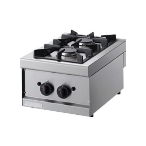 Cucina 2 Fuochi A Gas - Dim. cm. 40x60