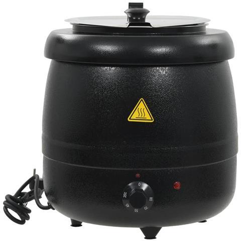 Bollitore Elettrico Per Zuppe In Alluminio 10l 400w 34x34x37cm