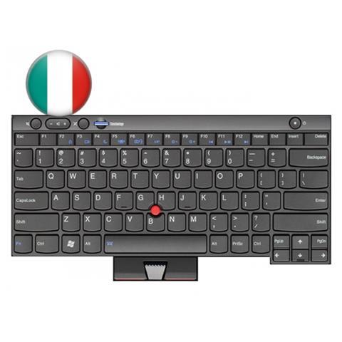 04W3154, Keyboard, , ThinkPad L430, L530, T430, T530, X230, Nero, Italiano