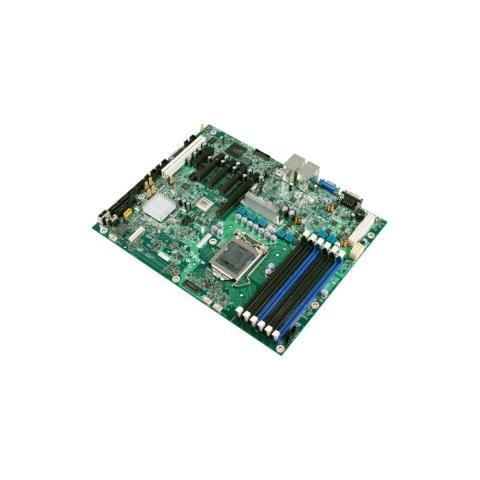 Image of Scheda madre per server Intel S3420GP - Intel 3420 Chipset - Socket H LGA-1156 - ATX - 1 x Processore supportato - 16 GB DDR3 SDRAM RAM massima - Serial ATA / 300 Supporto RAID Controllore - Chipset scheda video