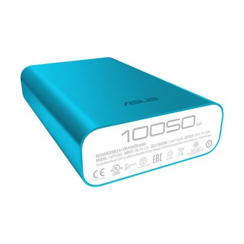 ASUS PowerBank ABTU005 Zen Power colore Blu da 10050 mAh