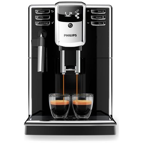 Macchina da Caffè Espresso Automatica Serie 5000 Serbatoio 1.8 L Potenza 1850 Watt Colore Nero