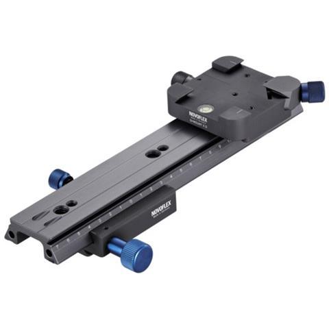 Piastra Rilascio Rapido 255 mm Nero CASTEL XQ II-EU