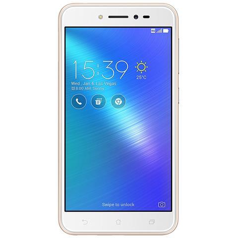 """ASUS ZenFone Live Oro 16GB 4G / LTE Dual Sim Display 5"""" HD Slot MicroSD Fotocamera 13Mpx Android - Italia RICONDIZIONATO"""