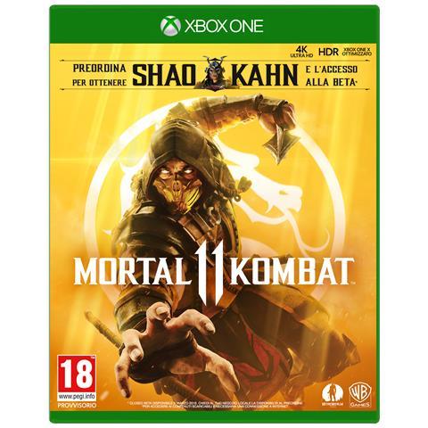 WARNER BROS XONE - Mortal Kombat 11