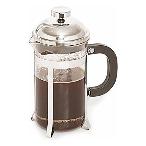 Caffettiera Pressa Filtro Ml 350 Vetro Acciaio