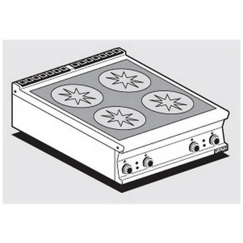 Fornelli Elettrici Professionali Afp / Pcit-98et