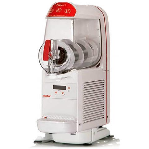 Macchina Per Granite Sorbetti Creme Fredde Ugolini Ng10/1 Easy - Contenitore Da 10 Litri - Dispenser Made In Italy