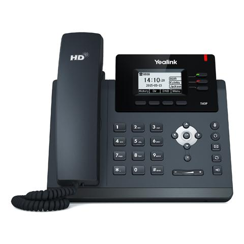 YEALINK SIP-T40P VoIP PoE Entry | SIP-T40P