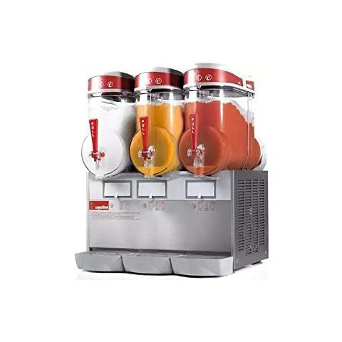 Distributore Per Creme, Sorbetti E Granite Mini 3-3x6 Litri