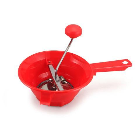 RIVADOSSI Passaverdura 2 Dischi Colore Rosso 20 cm