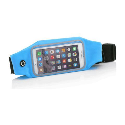 """FONEX Athletic Marsupio Sport Fitness per Smartphone fino a 5"""" - Blu"""