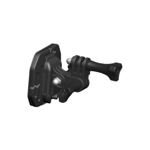 PNJ Cam M02 Supporto Laterale Di Fissaggio Per Videocamera, Colore: Nero