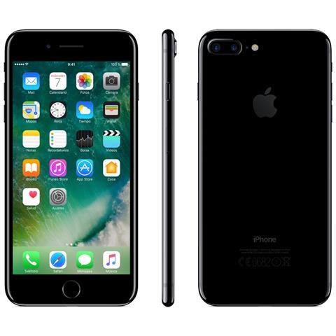 Apple iPhone 7 Plus 256 GB Jet Black (Ricondizionato SILVER)
