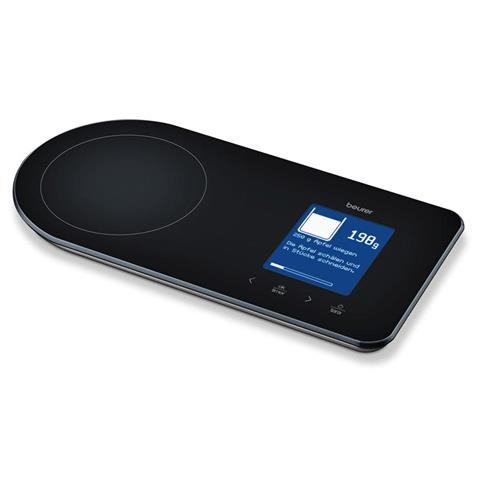 Bilancia Digitale per Cucina KS 800 Nera 6.2 x 7.6 cm 70850-EU