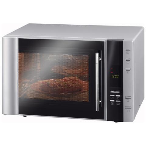 MW7803 Forno a Microonde + Grill + Ventilato Capacità 30 litri Potenza 900 Watt Colore Silver