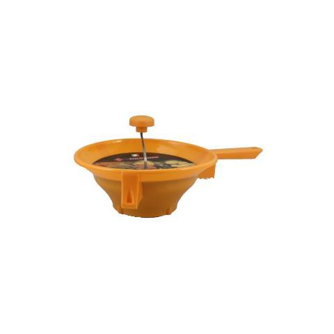 RIVADOSSI Passaverdura 3 Dischi Colore Arancione 30 cm