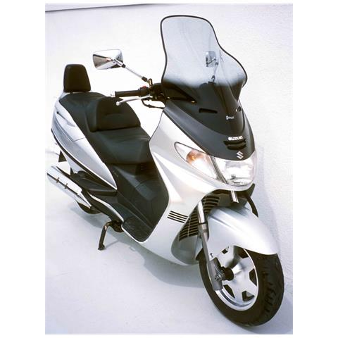 Scooter Parabrezza +10 Cm Ermax Per An 250/400 Burgman 98/2002 Trasparente