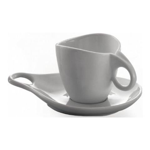 Set 6 Tazzine Da Tè / cappuccino E Piattino,