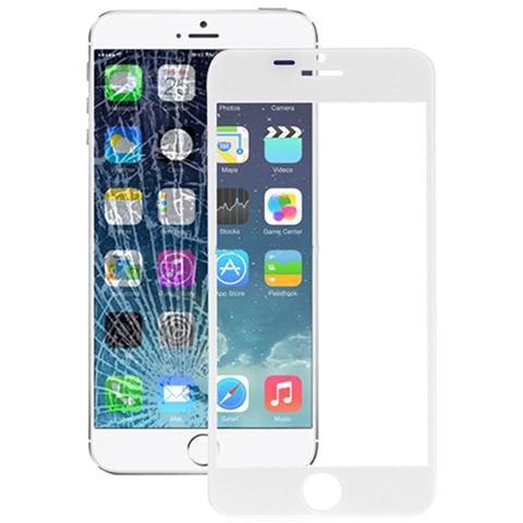 BOMA Schermo Vetro Frontale Ricambio Apple Iphone 6s Plus Con Colla Oca Bianco