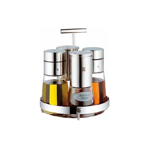Lampe berger Menage ceramill deluxe inox 5 pezzi