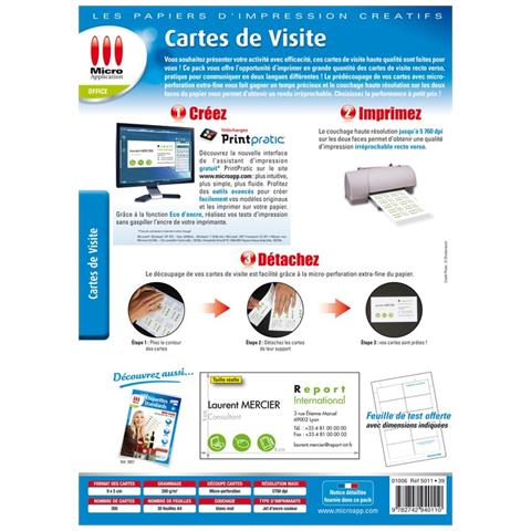 Carta Ed Etichette MICRO APPLICATION In Vendita Su EPrice