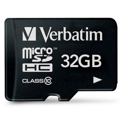 Verbatim Micro SDHC 32 Gb - Classe 10