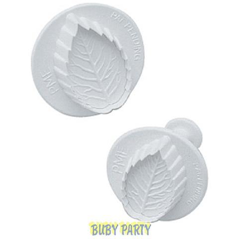 Stampo Ad Espulsione Foglia Per Pasta Di Zucchero - Cm 3