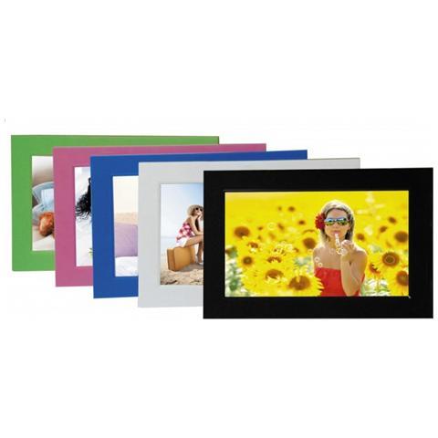 DigiFrame 701, 17,78 cm (7'') , 400 x 240 Pixels, LED, JPG, MMC, SD, SDHC, USB 2.0