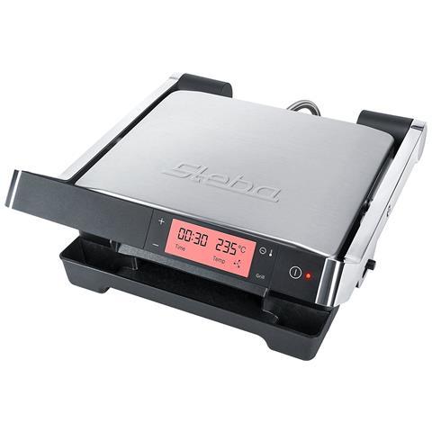 Barbecue Elettrico Potenza 2000 Watt Colore Inox