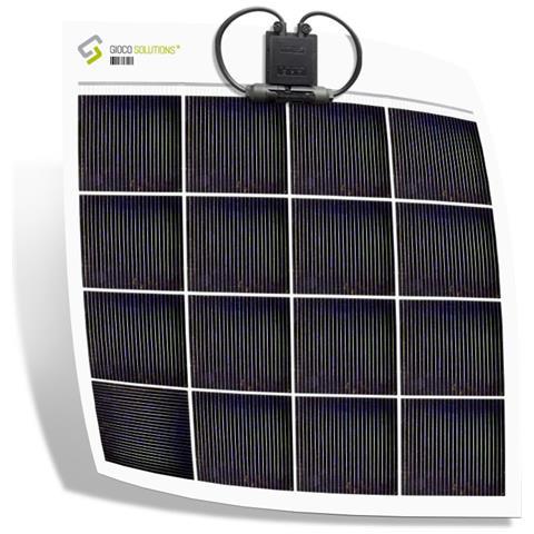 Giocosolutions Pannello Fotovoltaico Flessibile Policristallino 65w-q #gsp65q