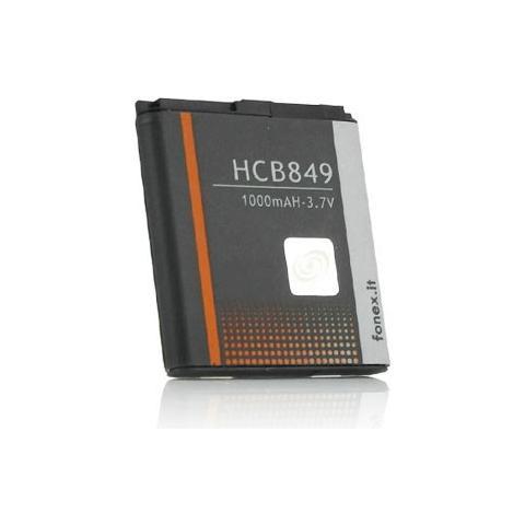 FONEX Batteria Li-Ion High Capacity 1000 mAh per Blackberry 9360/9370