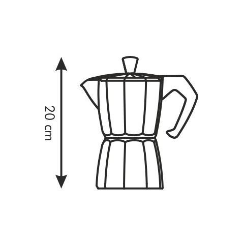 Caffettiera 6 tazze paloma