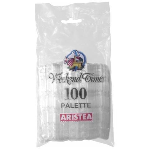 Palette Caffè trasparenti - confezione da 100 pz.