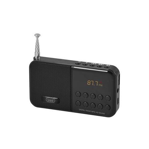 TREVI Radio Fm Con Lettore Mp3 E Microsd Dr 740 Sd