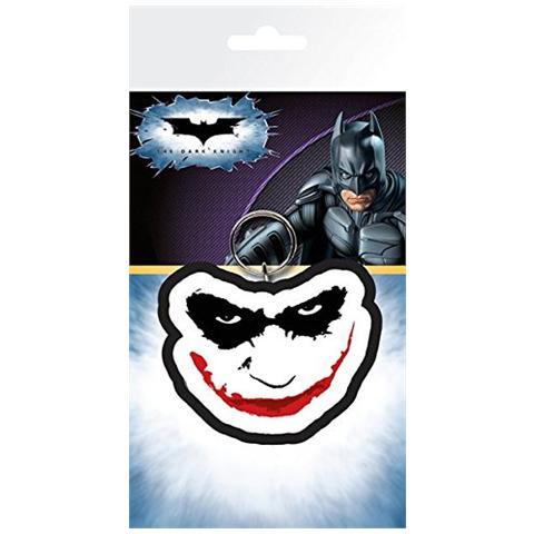 GB EYE LTD Batman The Dark Knight - Joker Smile (Portachiavi Gomma)