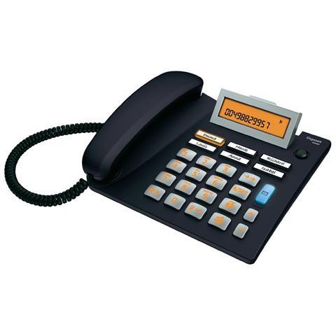 Gigaset Telefono Euroset 5040 con Vivavoce colore Nero