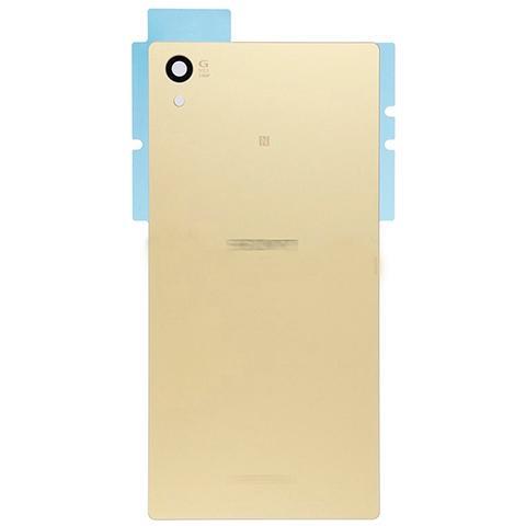 BOMA Retro Cover Scocca Ricambio Sony Xperia Z5 E6653 Oro Copri Batteria
