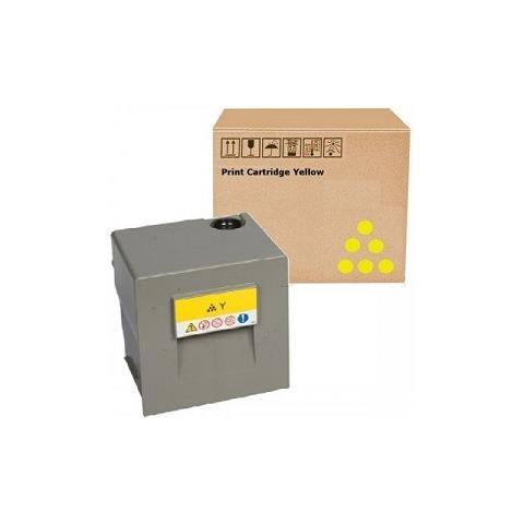Image of 841785 Giallo Rig Toner Color Compatibile Lanier Ricoh Nashuatec Mpc6502, c8002 -29k Copie