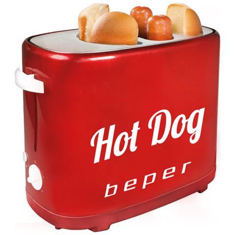 Macchina Piastra Per Hot Dog Wurstel Con 5 Livelli Di Cottura 750w Hotdog