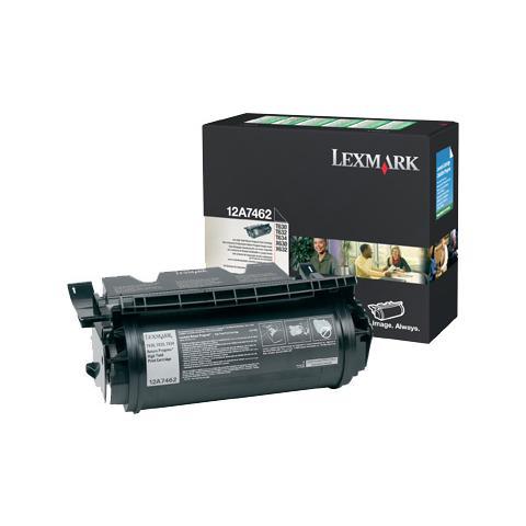 12A7612 Toner Originale Nero per Lexmark T630 Capacità 21000 Pagine