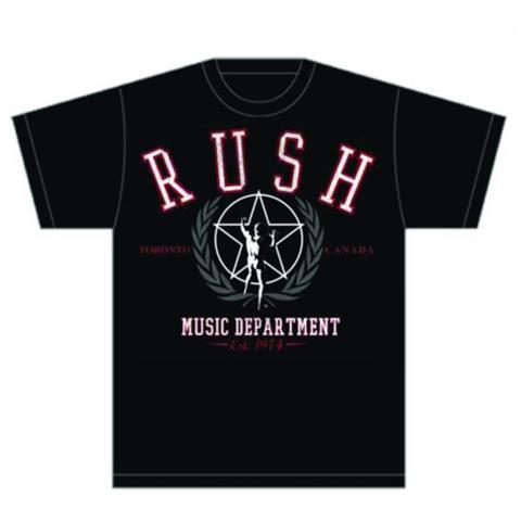 ROCK OFF Rush - Department (T-Shirt Unisex Tg. S)