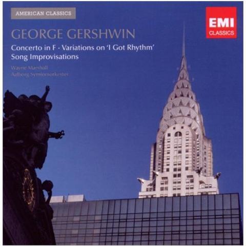 WARNER BROS Wayne Marshall - Gershwin: Concerto In F / Variations On 'i Got Rhythm' / Song Improvisations