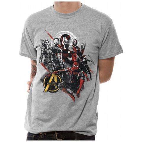 CID Avengers Infinity War - Good Mix (T-Shirt Unisex Tg. S)