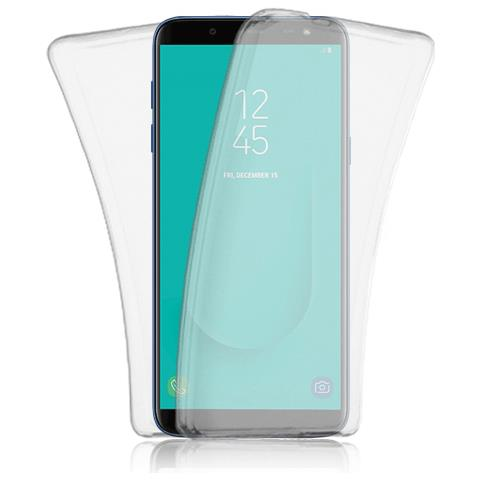 FONEX cover in TPU fronte e retro specter per Samsung Galaxy j6 trasparente